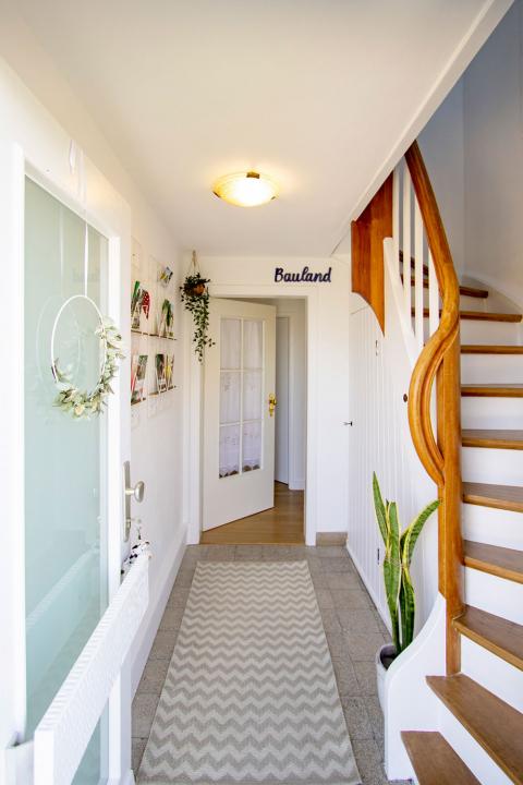 Unser Eingangsbereich in Paulas Ferienhaus